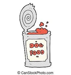 cartoon dog food - freehand drawn cartoon dog food