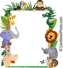 動物, 漫画