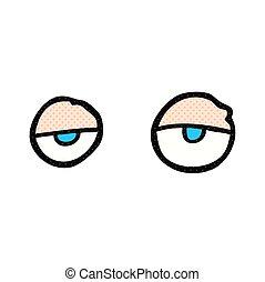 Sleepy eyes Vector Clipart Illustrations. 466 Sleepy eyes ...