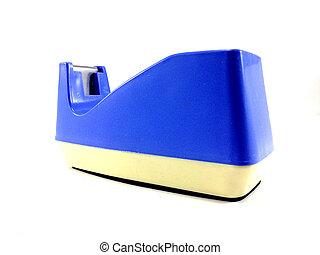 Blue Tape Dispenser / Tape Dispenser on white background
