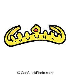 cartoon tiara