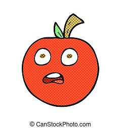 comic book style cartoon tomato