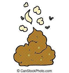 cartoon gross poop - freehand drawn cartoon gross poop