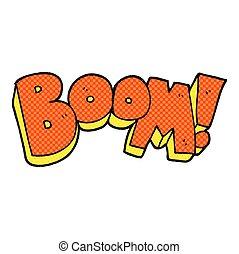 cartoon boom - freehand drawn cartoon boom