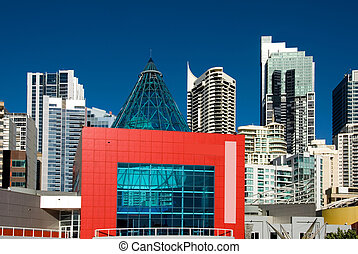 Sydney City Scene - Inner-city buildings, Sydney, Australia