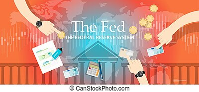 the fed federal reserve system manage economy fiscal policy...