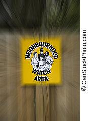 Neighbourhood Watch Sign - Neighbourhood watch poster...