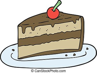 Cake Slice Cartoon Images : Slice of cake Illustrations and Clipart. 1,718 Slice of ...