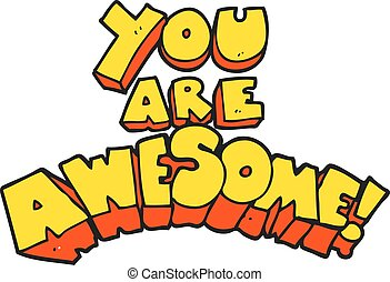 You awesome Illustrations and Clip Art. 648 You awesome ...