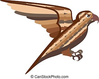 Stylized decorative bird