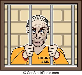 Criminal in Jail
