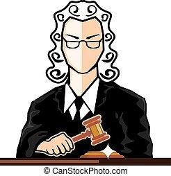 Judge vector persona