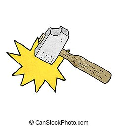 texture cartoon mallet - freehand drawn texture cartoon...