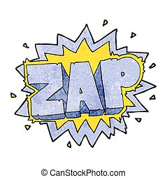 texture cartoon zap explosion sign - happy freehand texture...