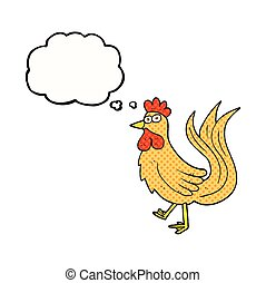 thought bubble cartoon cock - freehand drawn thought bubble...