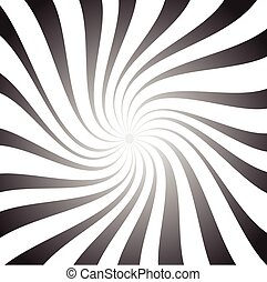 spiral background. Abstract vortex, whirlpool background with twisted shapes,