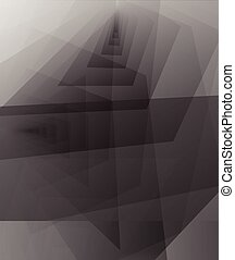 abstract greyscale background space for text and message...