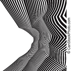optical art background abstract greyscale artwork black and...