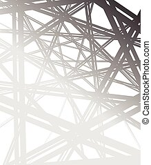 abstract background, greyscale lines smooth gradients