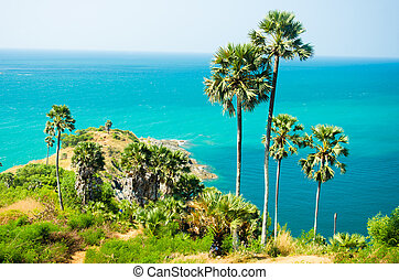 Phuket Promthep cape - Beautiful Promthep cape view point,...