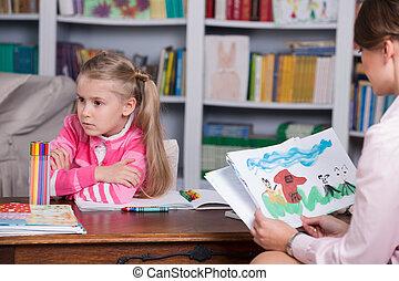 Bildergebnis für Bilder zu Psychologe und Kind