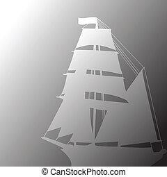 Concept of brigantine
