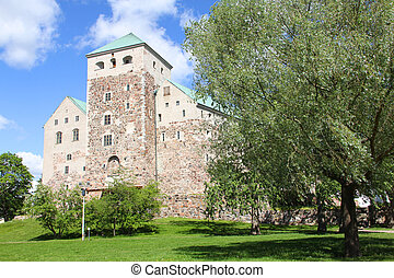 Medieval castle in Turku, Finland - Swedish medieval castle...