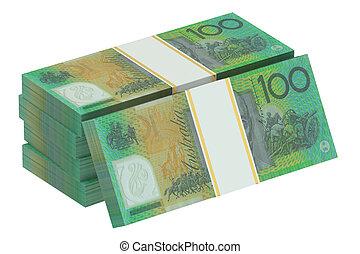 packs of australian dollars