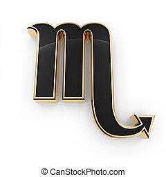 Escorpião, signos, Símbolo, ícone