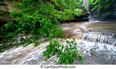 Matthiessen State Park Cascade - Beautiful cascades below...