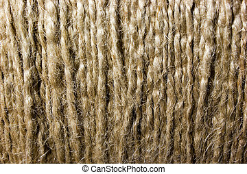 Background of cords, thread, twine