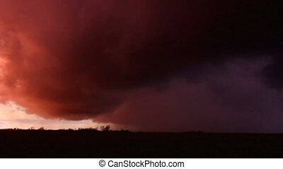 Tornado Storm Chasing Illinois - Raw storm chasing video of...