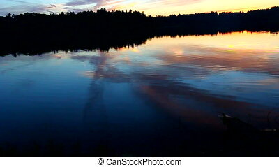 Northern Wisconsin Sunset - Beautiful sunset seen over...