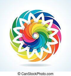 abstract colorful design