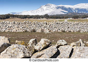Guadarrama Mountains - Views of Guadarrama Mountains, in...