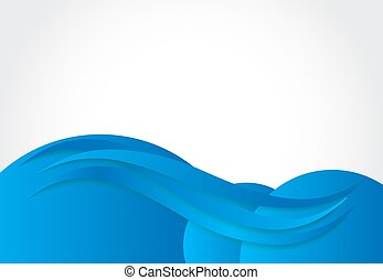 Abstract Colored Line Background Vector Illustration