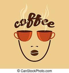 Vintage Coffee concept