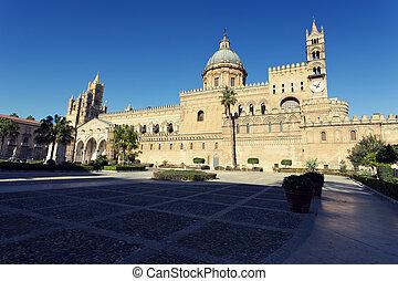 przedimek określony przed rzeczownikami, katedra, Od,...