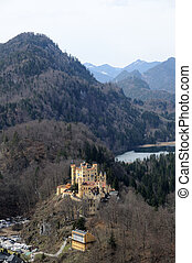 Historic Castle Hohenschwangau in Bavaria, Germany