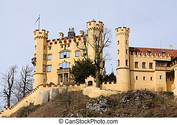 Historic Castle Hohenschwangau in Bavaria, Germany