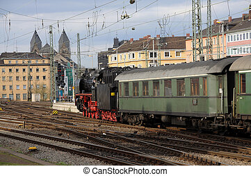 Steam Train - Steam train in Germany