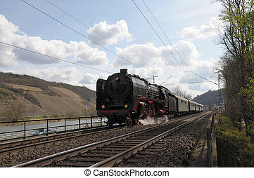 Historic Steam Train in Germany