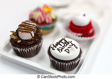 cupcake for happy birth day cake