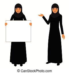 arab woman,