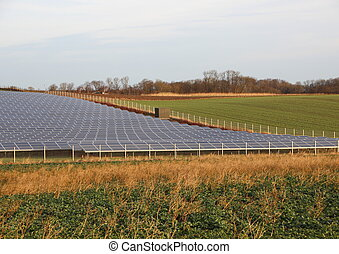 Sun Solar Outdoor Industrial Plant Large Scale in...