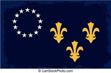Louisville City Flag - The flag as adopted by the city of...