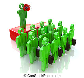 Managing a team of office workers in the design of...