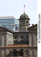 Pioneer courthouse Portland OR. - A closer view of the Court...