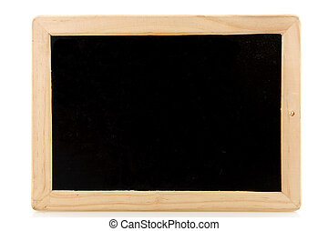 Black board - Empty black board for your own notation