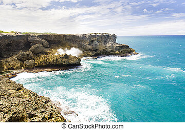 North Point, Barbados, Caribbean - North Point; Barbados;...